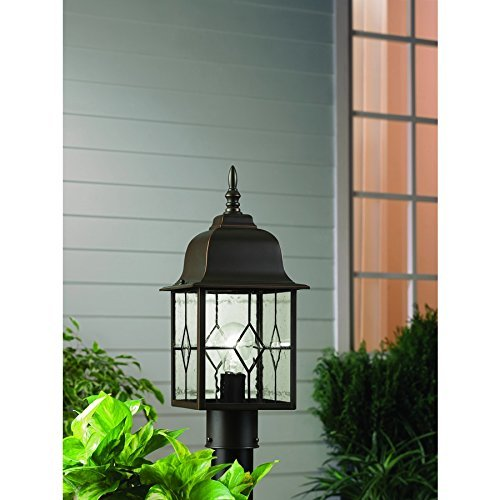 Litshire 17-in H Oil Rubbed Bronze Post Light