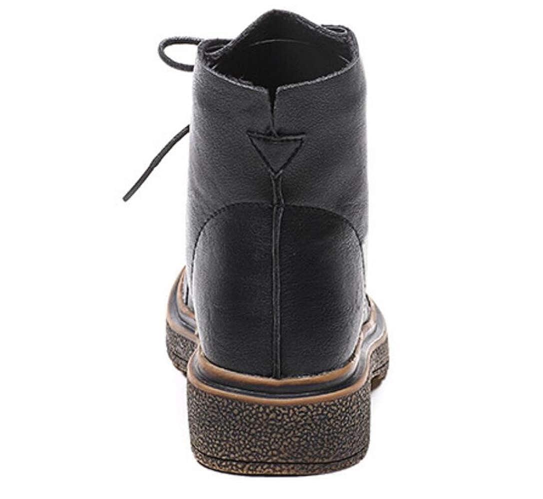 Shiney Frauen Martin Stiefel Weibliche Britische Wind Flachboden Stiefel 2018 Beiläufige Künstliche PU Stiefel Flachboden Herbst Winter fe70fa