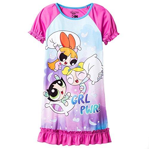 [Powerpuff Girls Big Power Puff Dorm, Pink, Large (10-12)] (The Powerpuff Girls Costumes)