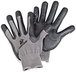 Mad Grip F100 Pro Palm Gloves,Grey/Black,Large/X-Large
