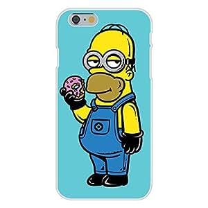 "Apple iPhone 6 Custom Case White Plastic Snap On - ""Simpion by ruishername"