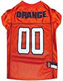 Pets First Collegiate Syracuse Orange Dog Mesh Jersey, X-Small by Pets First