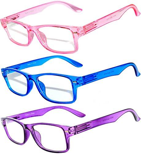 Retro Narrow Rectangular Clear Lens Eyeglasses with attitude 3 - Fashion Glasses Online