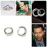 Multiline Company ÿSalman Khan Inspired Kaju Bali Hoop Earrings For Menÿ