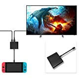 FastSnail HDMI Type C Adapter for Nintendo Switch, HDMI Converter Cable for Nintendo Switch