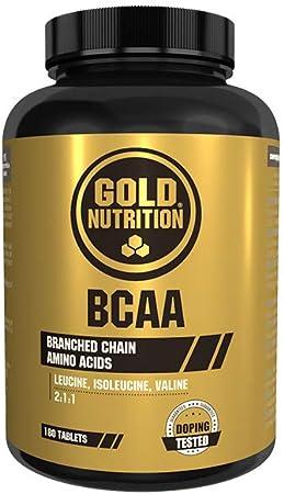 Goldnutrition BCAAs, 180 comprimidos, Conservar Masa ...
