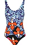 PETER PILOTTO FOR TARGET RED IRIS PRINT ONE PIECE SWIMSUIT Women's XS