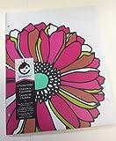 Studio C Happy Go Lucky Poly 2 Pocket Folder Multi Sunflower