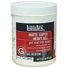 Liquitex Matte Super Heavy Gel Medium, 16-Ounce