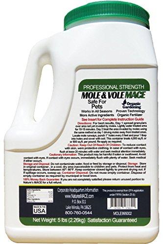 Mole and Vole Repellent Granular Shaker 5lb