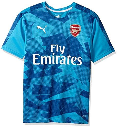 PUMA Men's Arsenal Fc Stadium Jersey Epl with Sponsor Logo – DiZiSports Store