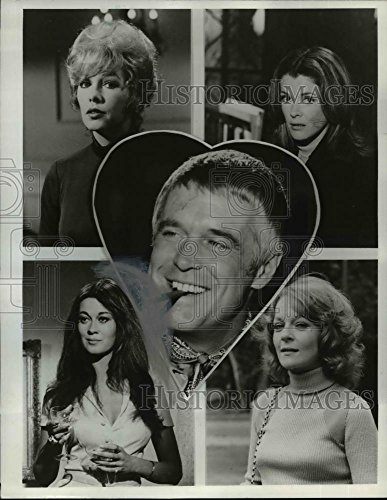 Vintage Photos 1973 Press Photo Casts of NBC-TV's Banacek - orp29278