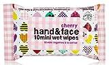 NPW Hand & Face Cherry 10 Mini Wet Wipes