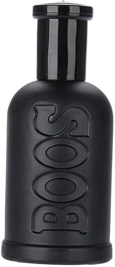 Perfume de Colonia para Hombres, Fragancias Frescas para Hombres de Larga Duración, Spray para Caballeros Maduros, Traje de Perfume Sexy Temptations para La Cena de Negocios y Citas de 50 Ml(Negro)