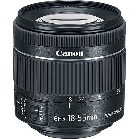 EF-S 18-55mm f/4-5.6 IS STM Lens (Bulk Packaging- White Box) New ...