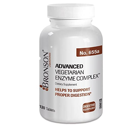 Amazon.com: Bronson Advanced Vegetariana Enzyme Complex ...