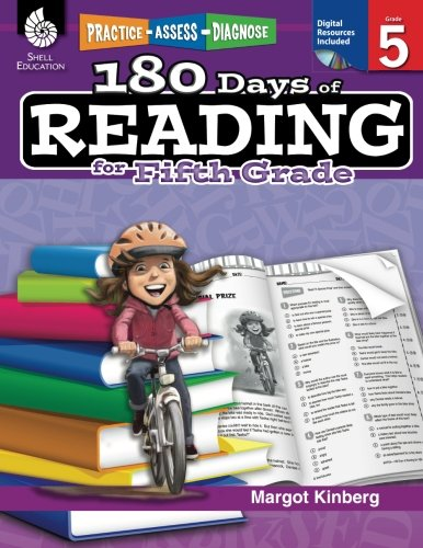 180 Days of Reading: Grade 5 - Daily Reading Workbook for Classroom and Home, Reading Comprehension and Phonics Practice, School Level Activities Created by Teachers to Master Challenging Concepts (Nys Common Core Ela Curriculum Grade 8)