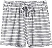 Vislivin Womens Pajama Shorts Sleep Shorts Stretchy Pajama Pants