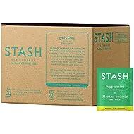 Stash Tea Peppermint Herbal Tea, 100 Count (packaging may vary)