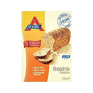 Atkins day break wholegrain bread mix 400g for Atkins cuisine baking mix