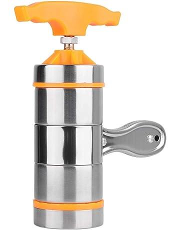 Nikou Máquina de Fideos Hogar Hogar Acero Inoxidable Pasta Fabricante Noddles Presser Máquina de Hacer con
