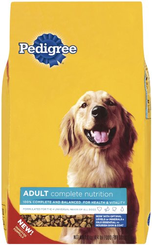 Pedigree Small Crunchy Bites Original Beef Flavor Dry Food for Adult Dogs, 4.4-Pound Bags (Pack of 10), My Pet Supplies
