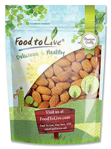 Raw Almonds Bulk, 2 Pounds - Whole, No Shell, Unsalted, Kosher