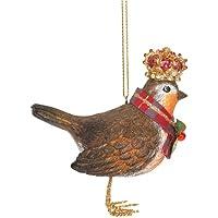 Gisela Graham - Figura Decorativa de petirrojo