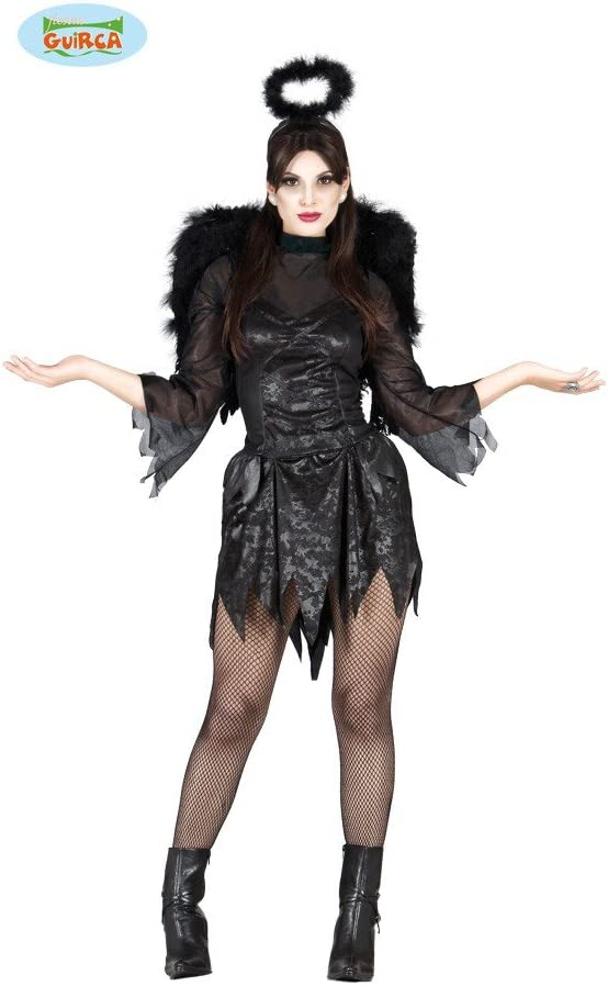 Disfraz de ángel caído para mujer: Amazon.es: Juguetes y juegos