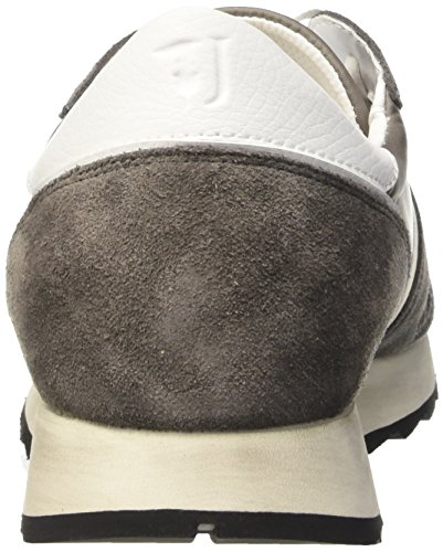 Trussardi Jeans 77S06449, Scarpe da Ginnastica Uomo Grigio (18 Grigio)