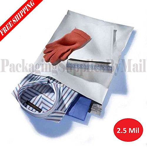 Discount 1000 10 X 13 Inch Poly Mailers Shipping Mailing Envelopes Bags 2.5 Mil Thick 1000 / Case free shipping