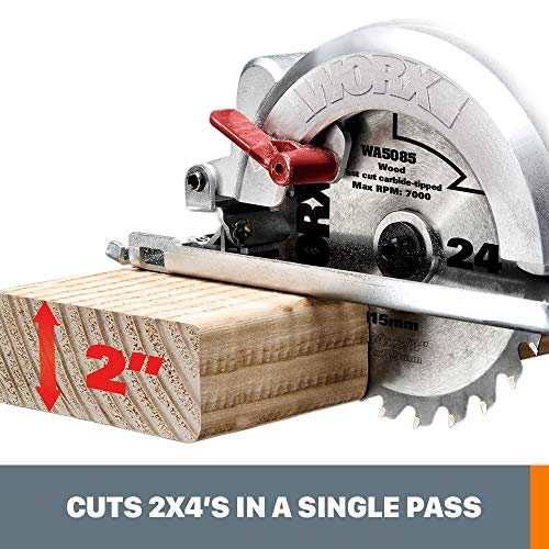WORX WORXSAW 4-1/2″ Compact Circular Saw – WX429L