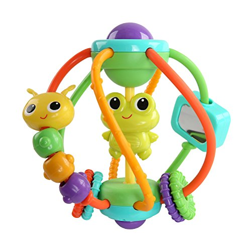 Baby Einstein Take Along Tunes and Bright Starts Clack & Slide Activity Ball