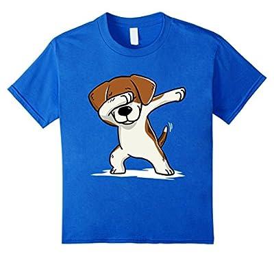Beagle Cute Dabbing T-Shirt Funny Dab Dance Gift Shirt