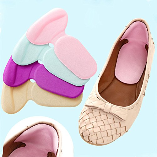Price comparison product image XENO-1 Pair Soft Silicone Gel Heel Cushion Shoe Pad Insoles Foot Care Protectors NEW