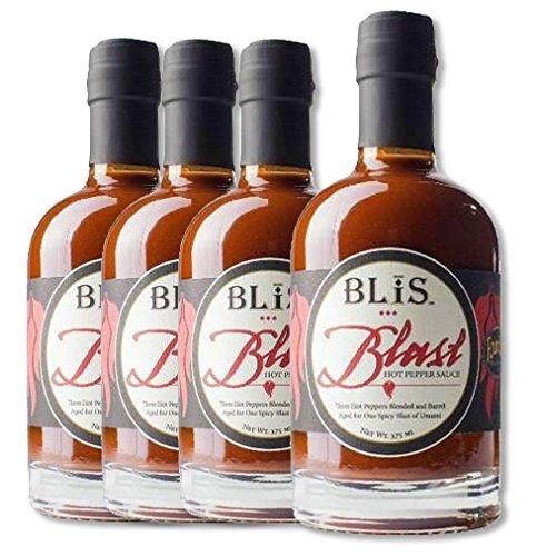 BLiS Blast Hot Pepper Sauce - 4 Pack - 375ml (4)