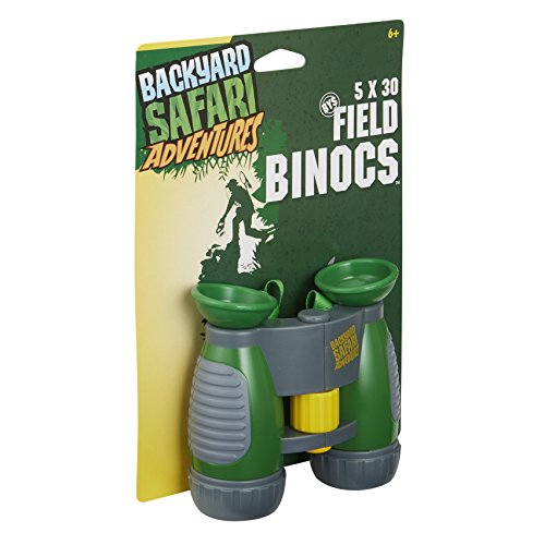 Backyard Safari Outfitters 5x30 Field Binoculars, Ages 5+ 1