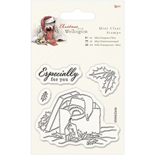 DOCrafts Wellington Christmas Mini Clear Stamps 75mm X 75mm-Present