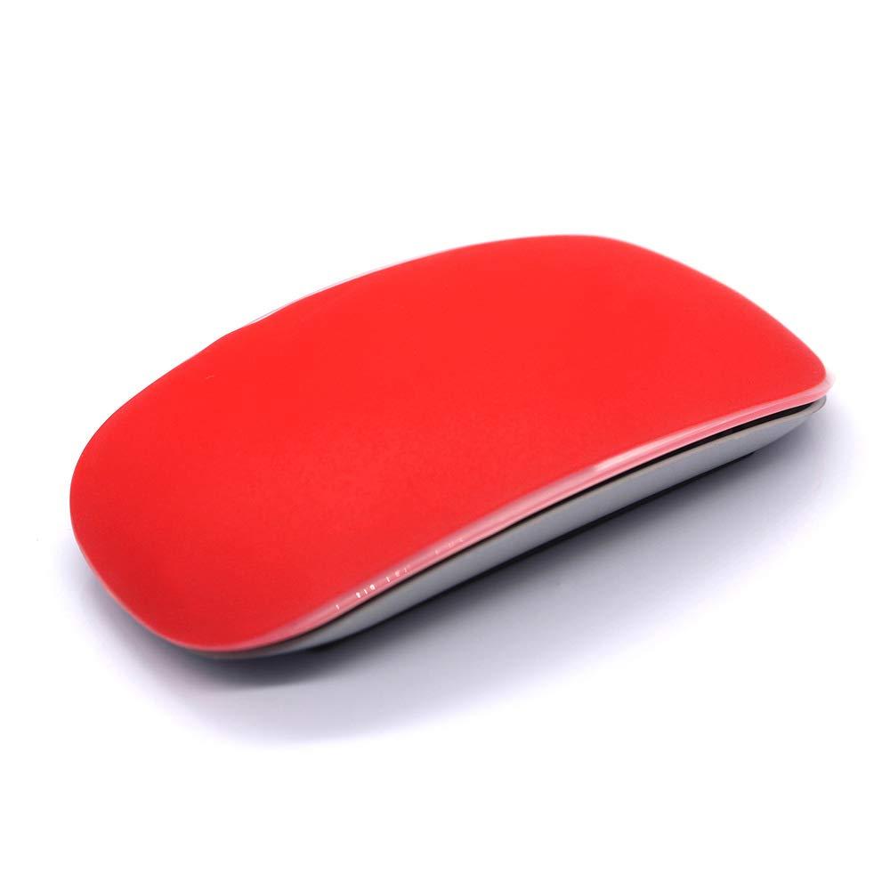 Apple Magic Mouse Coque Skin, Ultra Thin Mouse Film de Protection étanche à la poussière Housse de Protection pour Mac Apple Magic Mouse, étanche Mouse Peau Lisse Candy Couleur (Bleu foncé) GerTong 8178402