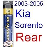 2003-2005 Kia Sorento Wiper Blade (Rear) (Goodyear Wiper Blades-Assurance) (2004)