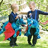 Childs Ride On Dragon Fancy Dress Mythical Animal Costume by Travis designs