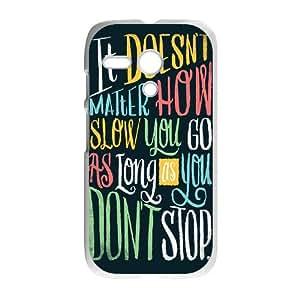 ZK-SXH - Do Not Stop Custom Case Cover for Motorola G, Do Not Stop DIY Case