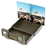 LOREO Mini Plastic Viewer - 3D Stereo Print - for 4 by 6 inch - Fuji W3 3D Camera