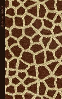 Giraffe Print Notebook: Gifts / Presents ( Giraffe Pattern / Skin - Small Ruled Softback & Amazon.com : Giraffe Animal Print Writing Ink Pen - Wildlife Nature ...