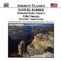 Barber : Adagio pour cordes, op. 11 - Concerto pour violoncelle, op. 22 - Medea, op. 23