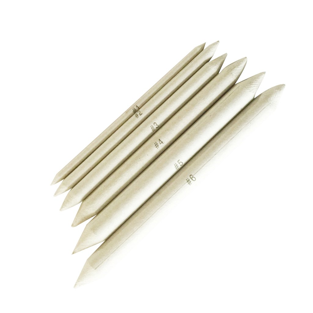 Sharplace 6 pieces sketch paper pen eraser for drawing paiting artist school supply crafts amazon co uk kitchen home