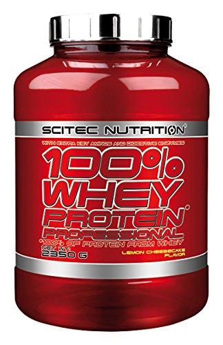 Scitec Nutrition Whey Protein Professional proteína limón-tarta de queso 2350 g: Amazon.es: Salud y cuidado personal