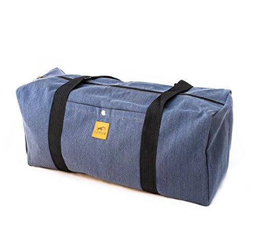 Denim Duffle Bag - 2