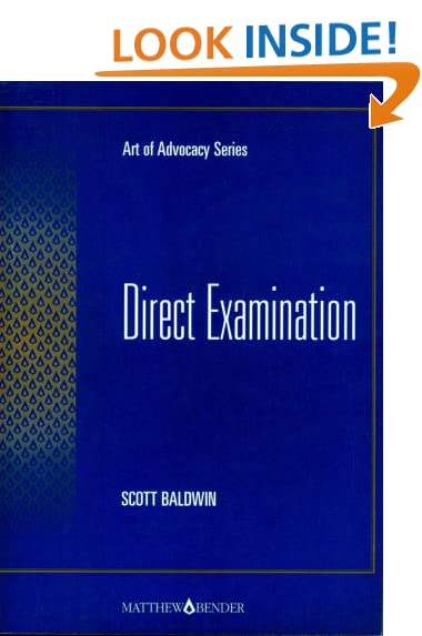 Download Art of Advocacy: Direct Examination pdf