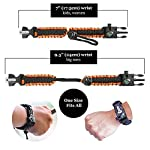 aZengear Bracelet de Paracorde et Survie pour Homme Femme - Militaire Kit avec Allume-feu - Boussole - Sifflet… 8